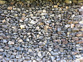 Basalt Outbuilding Wall Royalty Free Stock Photos