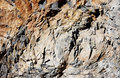 Basalt rocks background texture Stock Photos