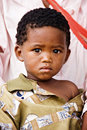 Basarwa child Stock Image