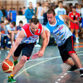 Bascketball  players Royalty Free Stock Photography