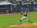Base-ball de Yankees du Colorado les Rocheuses X New York Photographie stock