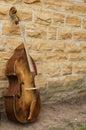 Base Fiddle Stock Image