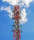 base station of cellular communication Royalty Free Stock Photo