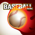 Baseball backgroun. Royalty Free Stock Image