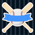 Baseball Badge Stock Image
