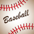 Baseball ball big background vector illustration Royalty Free Stock Photo