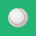 Baseball ball on a green