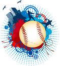 Baseball ball world baseballs grunge backgrounds Royalty Free Stock Images