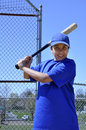 Baseball batter portrait Stock Photos