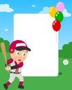 Baseball Boy Photo Frame