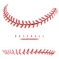 Baseball competition poster Royalty Free Stock Photo