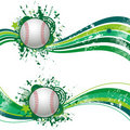 Baseball design element Royalty Free Stock Images