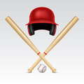 Baseball equipment Royalty Free Stock Photo