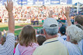 Baseball Fans Stock Images