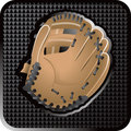 Baseball glove web icon Royalty Free Stock Photo