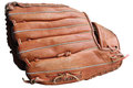 A baseball glove with white background Royalty Free Stock Photo