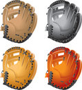 Baseball gloves Royalty Free Stock Photos