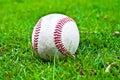 Baseball in grass Royalty Free Stock Photo