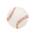 Baseball isolated over white background with clipping path Stock Photography