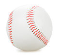 Baseball isolated on white backgroun Royalty Free Stock Photography