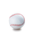 Baseball isolated on white backgroun Stock Photos