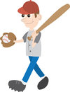 Baseball Kid Royalty Free Stock Photo