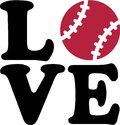 Baseball Love Royalty Free Stock Photo