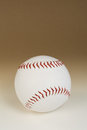 Baseball over gradient background with clipping path Stock Photo