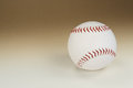 Baseball over gradient background horizontal photo Stock Photos
