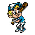 Baseball Player Kid Royalty Free Stock Photo
