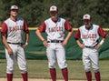 Baseball Players Royalty Free Stock Photo