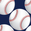 Baseball seamless pattern Royalty Free Stock Photo