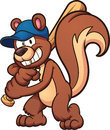 Baseball squirrel