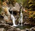 Bash Bish falls in Berkshires Royalty Free Stock Photo