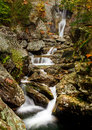 Bash Bish falls in Berkshires Stock Images