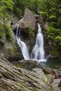 Rocky Bash Bish Falls Royalty Free Stock Photo
