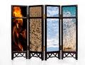 Basic four elements Royalty Free Stock Photo
