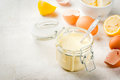 Basic Hollandaise sauce Royalty Free Stock Photo