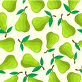 stock image of  PEAR FRUIT SEAMLESS PATTERN
