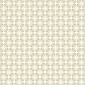 Seamless Golden Square Shapes Geometric Pattern in White Background