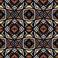 African Print fabric, Ethnic bologan design, Ethnic and tribal motifs geometric elements. Vector texture, afro.