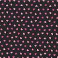 Heart Icons Seamless Pattern For Valentine