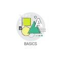Basics Maths Knowledge Elearning Education Online Icon