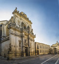 Basilic holy giovanni battista,lecce Royalty Free Stock Photo