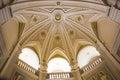 Basilica of Alberobello. Side nave Royalty Free Stock Photo