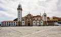 Basilica in the central square of the town of Candelaria on the