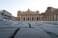 Basilica church Saint Peter Royalty Free Stock Image