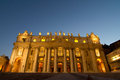 Basilica church Saint Peter Stock Photography