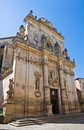 Basilica church of st giovanni battista lecce puglia italy Royalty Free Stock Photography