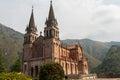 Basilica of Covadonga in Asturias Royalty Free Stock Photo